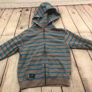 Toddler Quiksilver zip up hoodie